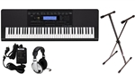 Casio WK245 76 Key Keyboard Premium Padkage