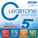 Cleartone Nickel-Plated Fifth Single Bass String