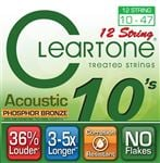 Cleartone Phosphor Bronze 12-String Acoustic Guitar Strings