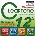 Cleartone Bluegrass Phosphor Bronze Acoustic Guitar Strings