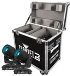 Chauvet Intimidator Spot LED 350 X2 Stage Lights with Case