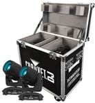 Chauvet DJ Intimidator Spot LED 350 Stage Lights Pair wCase