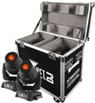 Chauvet Intimidator Spot LED 355Z IRC Pair w/Case