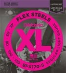 D'Addario EFX170-5 FlexSteels Roundwound 5 String Bass Guitar Strings