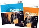 DAddario EJ 80/20 Bronze Acoustic Guitar Strings