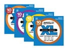 D'Addario EXL120 XL Nickel Wound Electric Guitar Strings 10 Pack