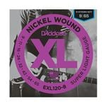 D'Addario EXL120-8 Nickel Wound 8-String Electric Gutiar Strings 9-65