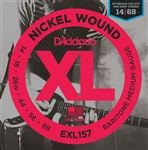 D'Addario EXL157 Nickel Wound Baritone Electric Guitar Strings 14-68