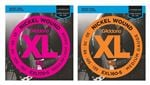 DAddario EXL Nickel Wound 5 String Bass Guitar Strings