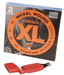 Daddario EXL160 Nickel Wound Bass Strings 2 Pak Free Pegwinder