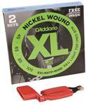 Daddario EXL165 Nickel Wound Bass Strings 2 Pak Free Pegwinder