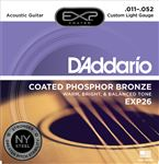 DAddario EXP26 Phosphor Bronze Acoustic Guitar Strings