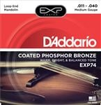 DAddario EXP74 Phosphor Bronze Mandolin Strings