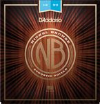 D'Addario NB1253 Nickel Bronze Acoustic Guitar Set Light