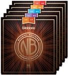 D'Addario NB Nickel Bronze Acoustic Guitar Strings