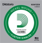 DAddario NW059 Nickel Wound Electric Guitar String