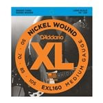 D'Addario EXL160 XL Nickel Wound Electric Bass Guitar Strings 50-105