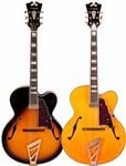 D'Angelico EXL1 Archtop Hollowbody Electric Guitar with Case