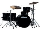 Ddrum Journeyman Rambler 22 5 Piece Drum Set with Hardware