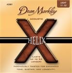 Dean Markley 2081 Helix HD Acoustic Guitar Strings Light 11-52