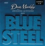 Dean Markley 2554 Blue Steel Electric Guitar Strings Custom Light 9-46