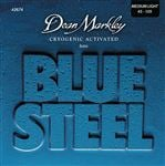 Dean Markley 2674 Blue Steel Bass Guitar Strings Medium Light 45-105