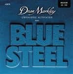 Dean Markley 2676 Blue Steel Bass Guitar Strings Medium 50-105