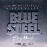 Dean Markley 2678A Blue Steel NPS Bass Guitar Strings 5-String 45-125