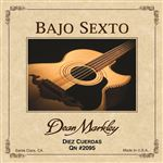 Dean Markley DM2096 Bajo Sexto Doce Cuerdas Guitar Strings