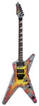 Dean Dimebag Concrete Sledge ML Electric Guitar with Case