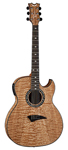 Dean Exhibition Quilt Ash Acoustic Electric Guitar with Aphex