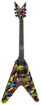Dean Michael Schenker Signature V Kaleidoscope Electric Guitar
