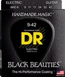 DR Strings BKE9 Black Beauties Electric Guitar Strings