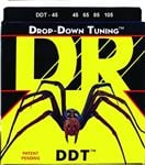 DR Strings DDT45 Drop Down Tuning Electric Bass Guitar Strings