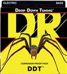 DR Strings DDT Drop Down Tuning 5 String Electric Bass Guitar Strings