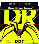 DR Strings DDT65 Drop Down Tuning 5 String Bass Guitar Strings 65-125