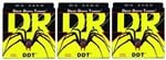 DR Strings DDT Drop Down Tuning Electric Bass Guitar Strings