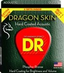 DR Strings DSA Dragonskin Clear Coated Acoustic Guitar Strings