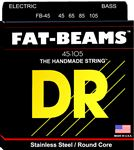 DR Strings FB45 Fat Beams Electric Bass Guitar Strings 45-105