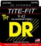 DR Strings LT9 Tite Fit Electric Guitar Strings