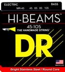 DR Strings MR45 Hi Beam Bass Guitar Strings Medium 45-105
