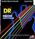 DR Strings NMCE11 K3 NEON Multicolor Electric Guitar Strings