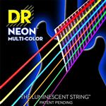 DR Strings NMCE11 K3 NEON Multicolor Electric Guitar Strings 11-50
