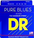 DR Strings PB45 100 Pure Blues  4 String Bass Guitar Strings