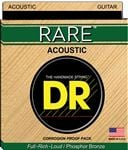 DR Strings Rare Bronze Acoustic Guitar Strings