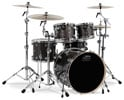 Drum Workshop Performance 5 Piece Shell Kit Drum Set Pewter Sparkle