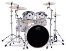 Drum Workshop Performance 5 Piece Shell Kit Drum Set White Marine