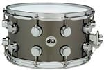 Drum Workshop Collectors 8x14 Black Nickel Over Brass Snare Drum