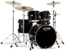 Pacific Concept Mpl 5Pc ShelKit Pearl Blk/Blk