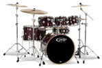 Pacific PDP Concept Maple 7 Piece Shell Kit Drums Transparent Cherry
